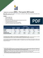 Quarterly Report 2016 q1 v2