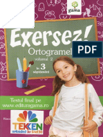 267113621 Exersez Ortogramele Vol 2 Clasele 2 3 Ed Gama