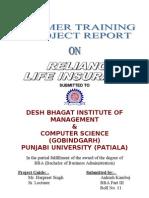14686844 Reliance Life Insurance