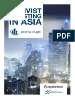 Activist Investing in Asia Sept 2017