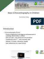 Basic Echocardiography in Children