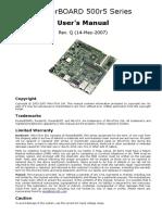 Rb500r5 Manual