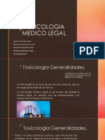 Toxicologia Medico Legal