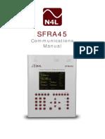 SFRA45 Comms Manual