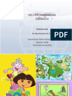 1 GIS Pendahuluan