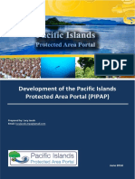 Jacob, L. 2014.  Development of the Pacific Islands Protected Area Portal. Implementation Report.