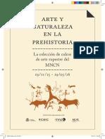 Arte y Naturaleza en La Prehistoria. La Colección de Calcos Del Museo Nacional de Ciencias Naturales