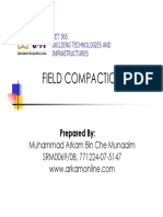 Field Compaction