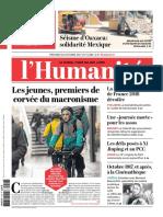 L'Humanité Du 18 Octobre 2017