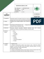 SOP Desinfeksi Dental Unit
