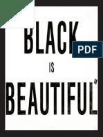 BLACK IS BEAUTIFUL (material adjunto-tesis doctoral)