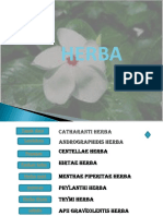 Farmakognosi 2017 Herba