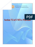 Revised Procedure Section712