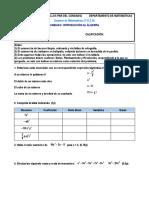 Examen Unidad 6 1ºESO