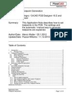 FlowCAD an PCB Testpoint Generation