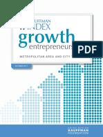 Kauffman Growth Entrepreneurship Index_Metro