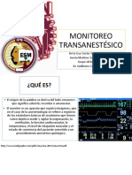 MONITOREO-TRANSANESTÉSICO