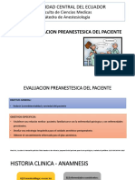 Evaluacion Preanestesica Del Paciente