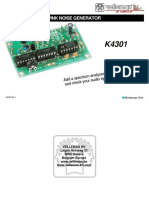 Cmos Noise Generator Illustrated Assembly Manual k4301