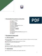 Guide Présentation Memoire Ingenieur