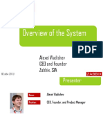 Zabbix - Overview of the System - Eng