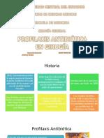 Profilaxis Antibiótica en Cirugía