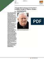 Il presidente della CEI per il Nuovo Amico - Il Resto del Carlino del 19 ottobre 2017