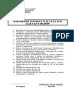 Reglamento y Funciones Gener 09-03