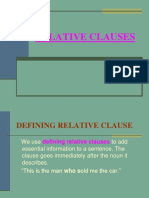 Relative Pronouns Powerpoint