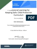 child protection curriculum