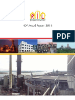 Rain Industries Limited - 40th Annual Report - 2014