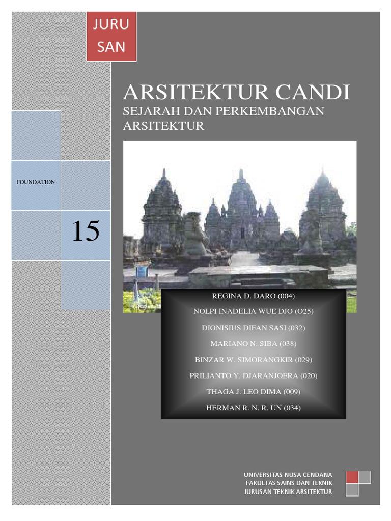 Arsitektur Candi Indonesia