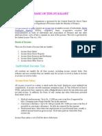 Basics of Tds on Salary-1
