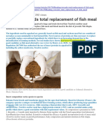 Heading Towards Total Replacement of Fish Meal