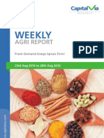 Agri Commodity Report for the Week