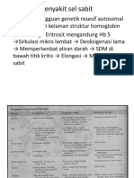 Anemia (Megaloblastik, Hemolitik, Sabit)