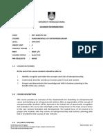 Etr300 Course Info