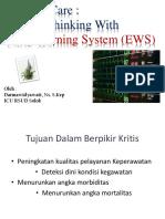 Peran Perawat Dengan EWS