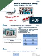 Mejora Calidad Tamizaje Neonatal Hospital I Alto Mayo- RA Moyobamba EsSalud