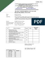 Surat Penilaian Ujian PKM Gandy