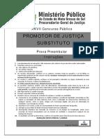 Fapec 2015 Mpe Ms Promotor de Justica Substituto Prova