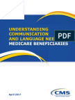 CMS OMH Understanding Communication and Language Needs of Medicare Beneficiaries