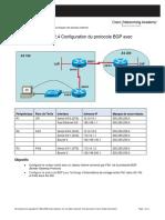 TP Lab BGP Evaluation