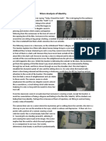 Micro Analysis of Identity