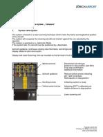 LSZH Description Docking Guidance System