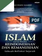 Islam Dalam Bingkai Keindonesiaan Dan Kemanusia - Syafii Maarif