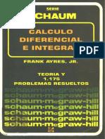 CÁlculo Diferencial e Integral-schaums-frank j Ayres