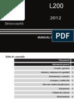 Manual de usuario Mitsubishi L200.pdf