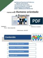 Talento Humano Orientado a Proyectos