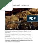 7 Diferencias Entre Pan Industrial y Artesanal